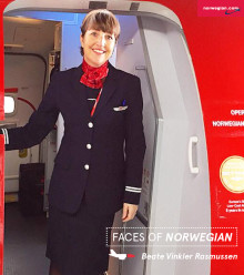 Faces Of Norwegian: Beate Vinkler Rasmussen