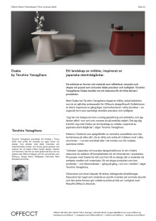 Offecct Press release Osaka by Teruhiro Yanagihara_SE