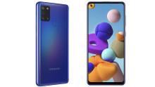 Samsung utvider Galaxy A-serien med det nye tilskuddet Galaxy A21s
