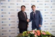 日立とTMHが鉄道車両用電気品を製造する合弁会社をロシアに設立