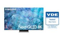 Samsungs NEO QLED 2021 får bransjens første «Eye Care»-sertifisering