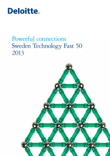 Deloitte Sweden Technology Fast 50 2013