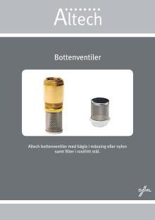 Altech sil bottenventil - Produktblad
