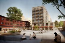 Ikano Bostad utvecklar Hagsätra med cirka 280 bostäder