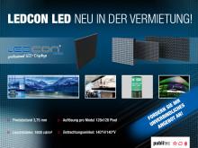 publitec erweitert Mietangebot bei LED-Videowalls
