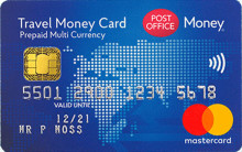 Post Office Travel Money Card can be used to access cash during coronavirus