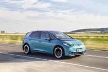Volkswagen största elbilsmärke i oktober