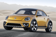 The all-weather bug: Volkswagen reveals Beetle Dune concept at Detroit Motor Show