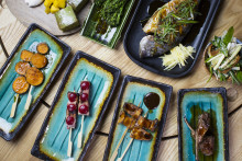 NY Omakase / Avsmakningsmeny på Rawbata Japanese BBQ