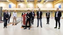 Investition in die Zukunft: Erste Palette verlässt das dm-Verteilzentrum in Wustermark