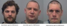 Three men sentenced for murder- Woodhill Prison, Milton Keynes