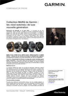 Collection MARQ de Garmin : les «tool watches» de luxe nouvelle génération