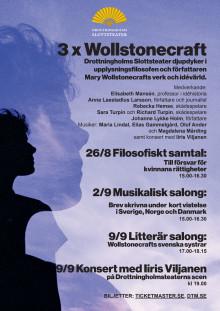 3xWollstonecraft på Drottningholms Slottsetater
