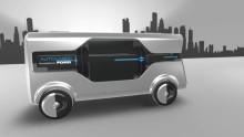 """Ford vytvořil koncepci automatizovaného doručování zásilek pro udržitelné """"Město zítřka"""""""