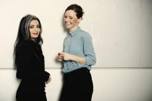 Sara Omar og Lise Rønne ser frem til foredragstour til vinter.