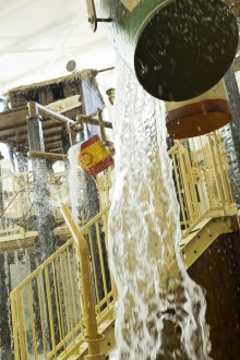 Making a splash! Center Parcs unveils new Venture Cove family water playground at Elveden Forest