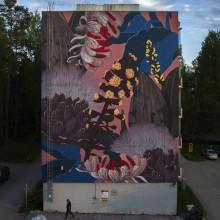 Argentiinalaisen Pastelin muraali käynnisti Karakallio Creative -hankkeen