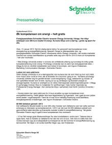 Nyttårsforsett 2014: Øk kompetansen om energi – helt gratis