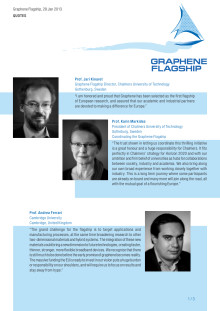 Quotes Graphene Flagship