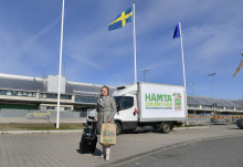 Handla mat på nätet och hämta dina kassar på Göteborg Landvetter