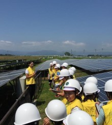 Solar power lightens up post-disaster Fukushima and its children