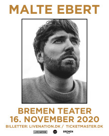 Malte Ebert – solo på Bremen Teater 16. november