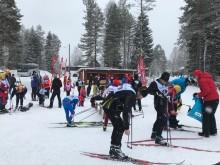 Bluewater Helps Keep Cross Country Skiing Athletes energized during Sweden's 90k Vasaloppet ski marathon