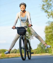 Von Fahrradfahren profitieren
