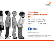 Gjensidiges samfunnsundersøkelse 2011