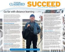 Go far with distance learning