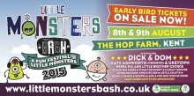 The Little Monsters Bash 2015 – A fun festival for your little monsters!