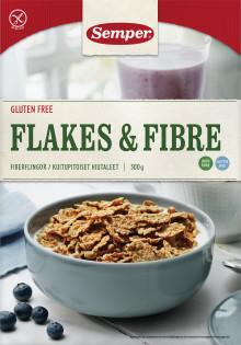Semper trekker tilbake glutenfrie Flakes & Fibre