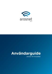 Användarguide för hur du loggar in på ArosNet