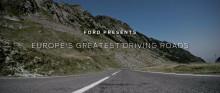 Europas körgladaste vägar kartläggs av Ford