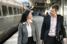 Oro för klimatet får affärsresenären att välja tåget