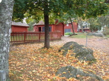 Höstmarknad på Vallby Friluftsmuseum