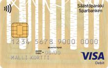 Säästöpankkiryhmä käyttää suomalaista puuta maksukortin valmistuksessa