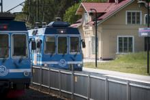 Arbetena på Roslagsbanan inleds