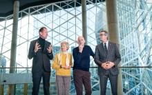 Traditional key handover for new Axel Springer building in Berlin