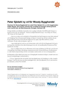 Peter Sjödahl ny vd för Woody-kedjan