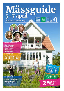 MÄSSGUIDE Stora Villamässan & Vår Trädgård 5-7 april Åbymässan