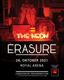 Erasure kommer til Royal Arena 26.10.21