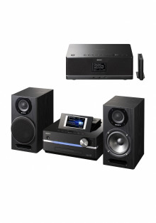 Redescubra su colección de música con el nuevo sistema Hi-Fi GIGA JUKE HDD