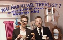 Komikerduon Anders och Måns gästar Vara med ny föreställning
