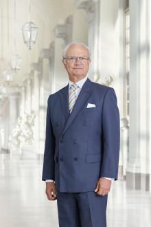 Kungen besöker Trä & Teknik på Svenska Mässan