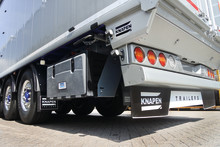 BPW air suspension ECO Air COMPACT HD now adopted as standard for Knapen moving floor trailers