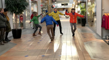 Dansens dag firas med danshappening i tunnelbanan 29 april