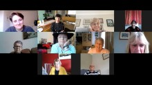 Hospice patients take a snapshot of lockdown life