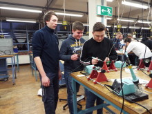 Bünder Jugendliche beim Energy Camp von Westfalen Weser Energie