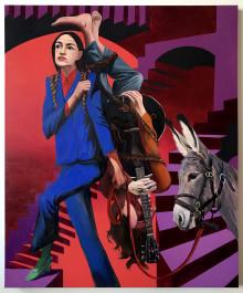Här kommer Alexandria Ocasio-Cortez - Ungt amerikanskt måleri politiseras